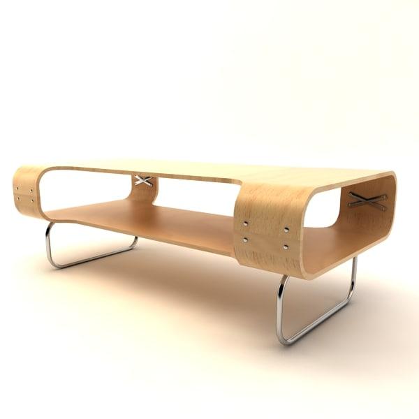 3d ikea buksbo table