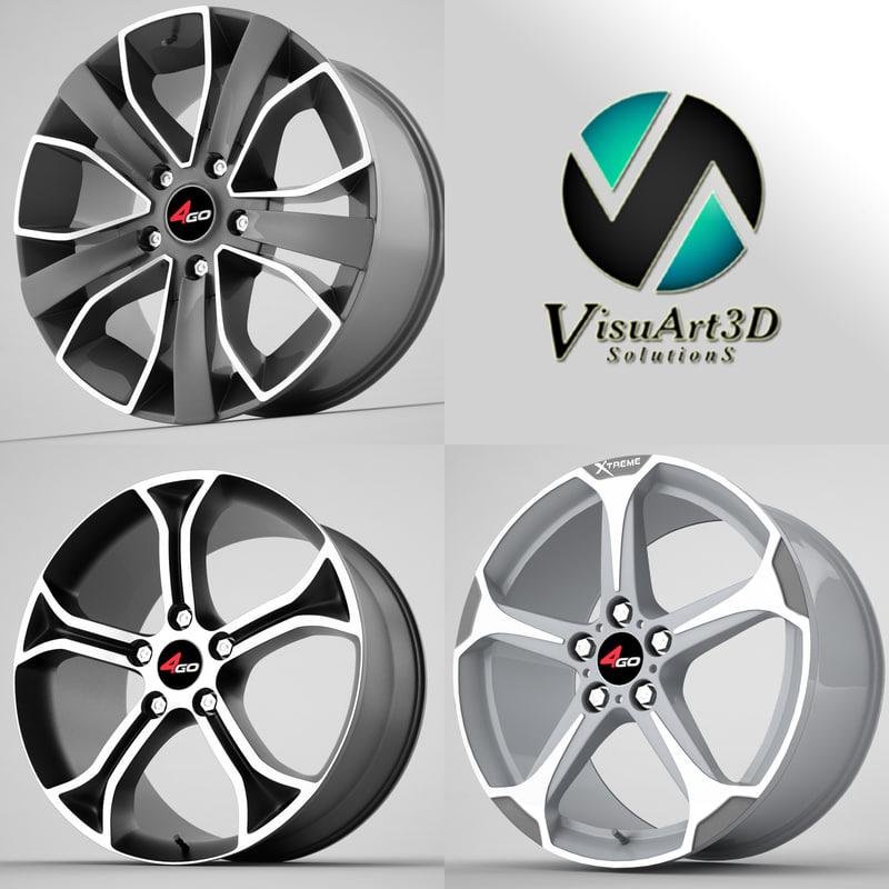 max rim wheel 4go