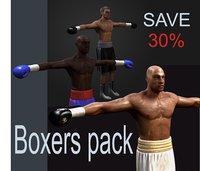 boxer box 3d max
