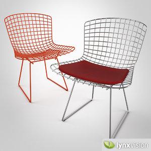 bertoia chair 3d model