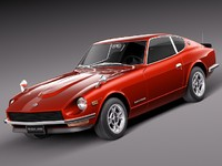 3d japan car classic sport