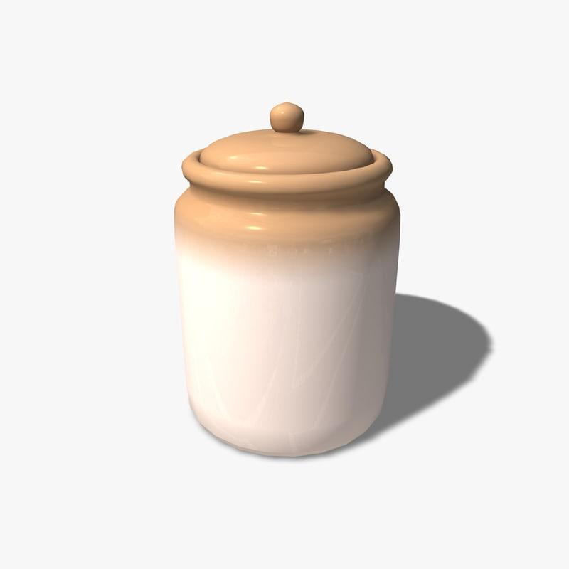 3d model cookie jar