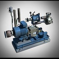 pump dresser 3d model