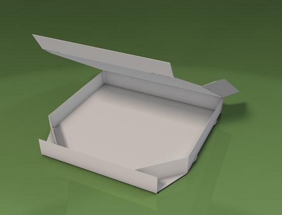 3d model pizza box