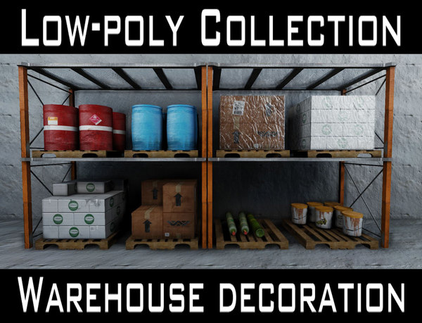 3ds max warehouse decoration set