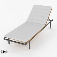 Deck Chair Haringe Sunlounger by Skargaarden