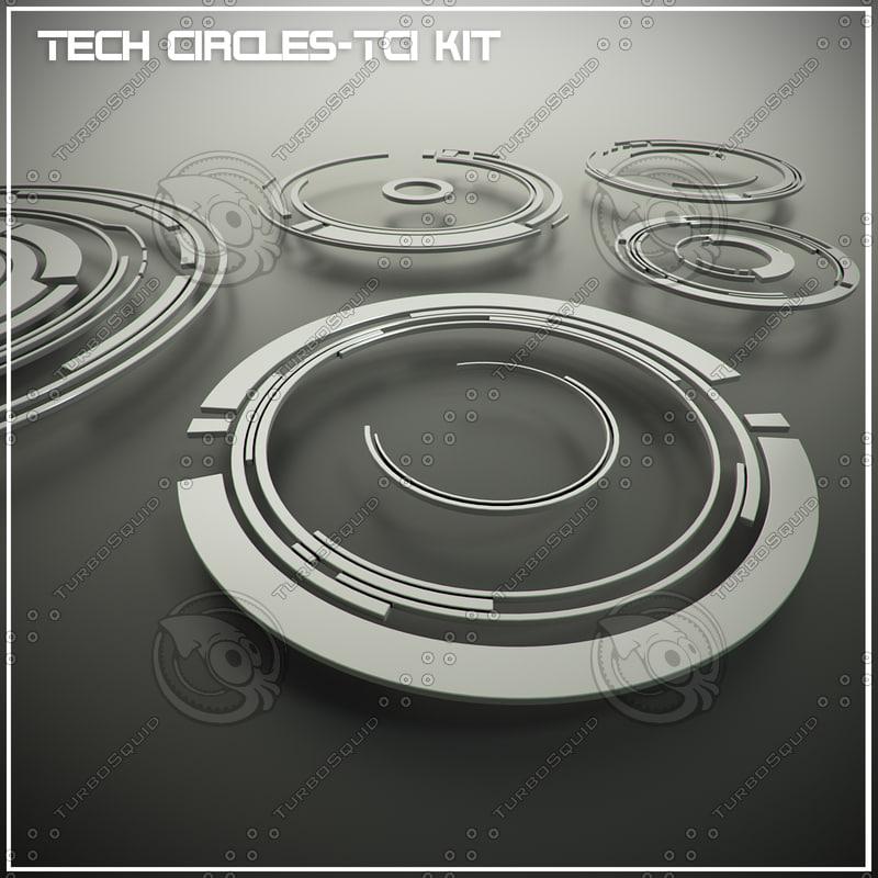 3d tech circles-tc1 kit