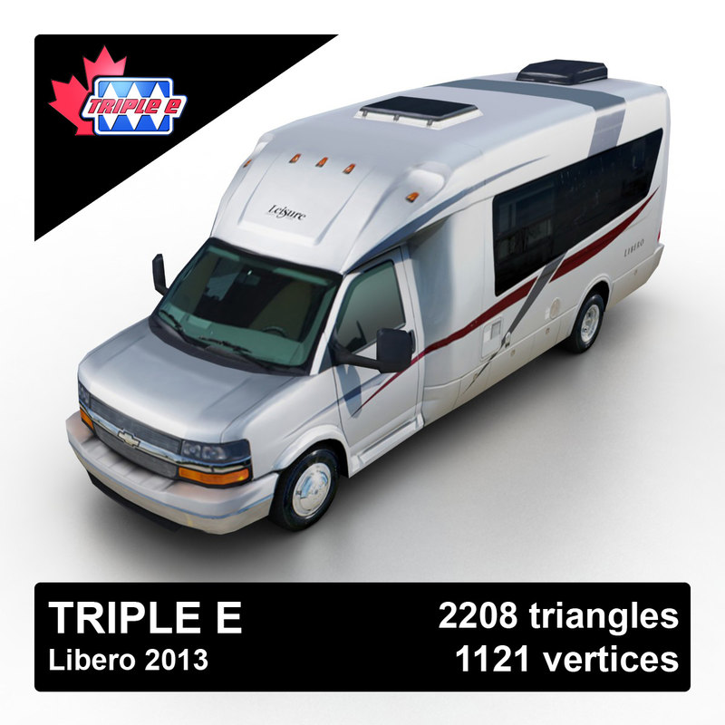 3d model 2013 leisure e libero