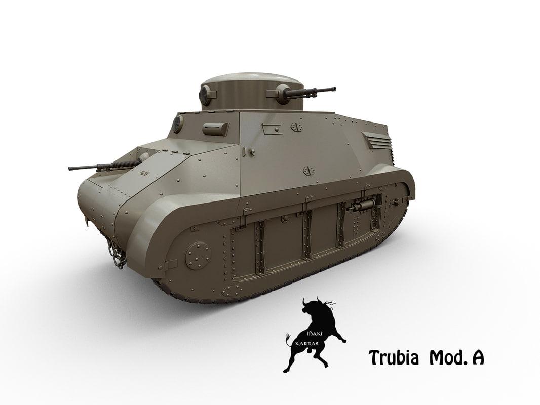 trubia 3d model