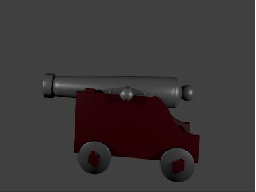 free 3ds model cannon