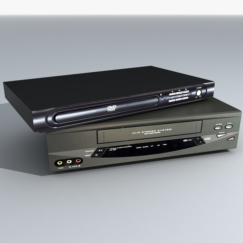 generic dvd player vcr max