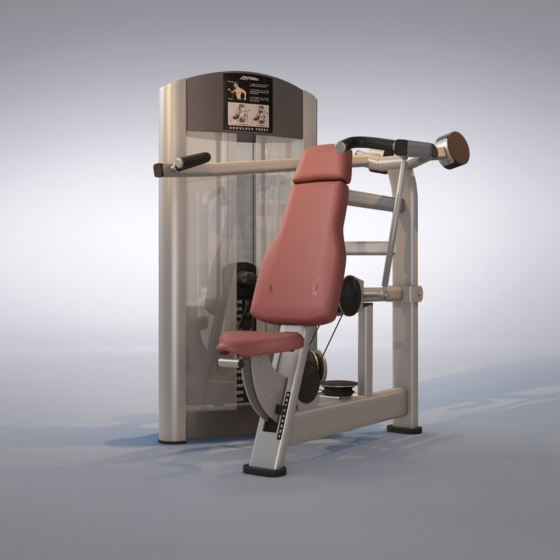 press machine 3d max