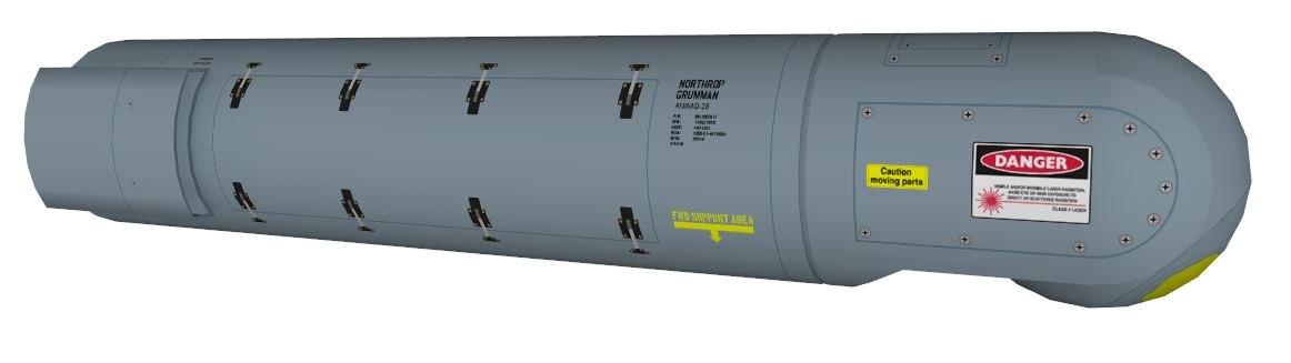 3d aaq28 targeting pod