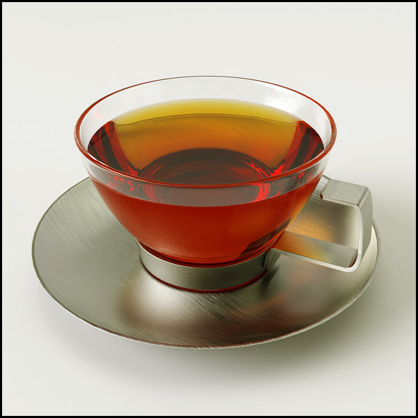 pura tea coffee contemporary 3d model