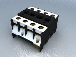 3d model contactor