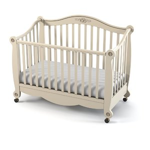 pali baby bed 3d max