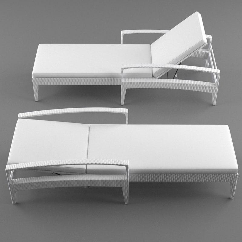 3d lounge furniture panama model