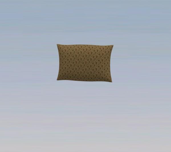 free obj mode pillow