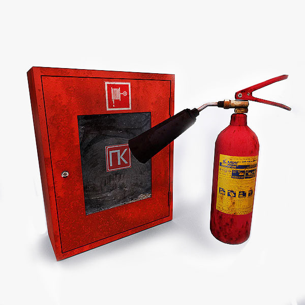 extinguishers 3ds free