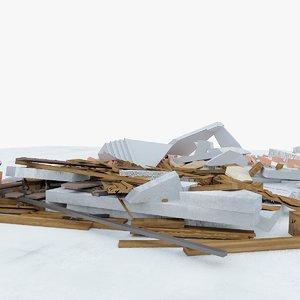 3d construction debris 1