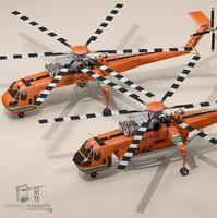 S-64E and S-64F Skycrane