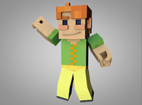 Minecraft Kid rig by Void Animations