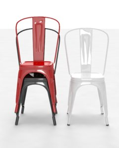 3ds max tolix chair
