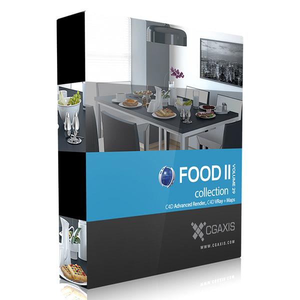 3d model volume 29 food ii interior