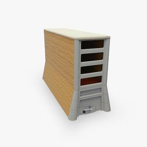 vaulting box 3d model