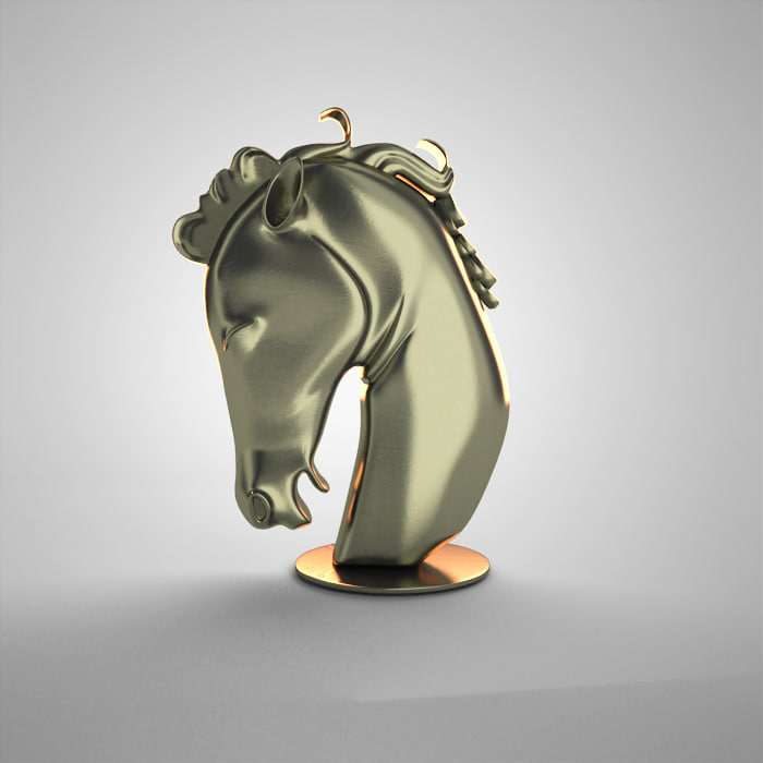 horse antique 3d max
