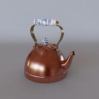teapot tea pot 3d max