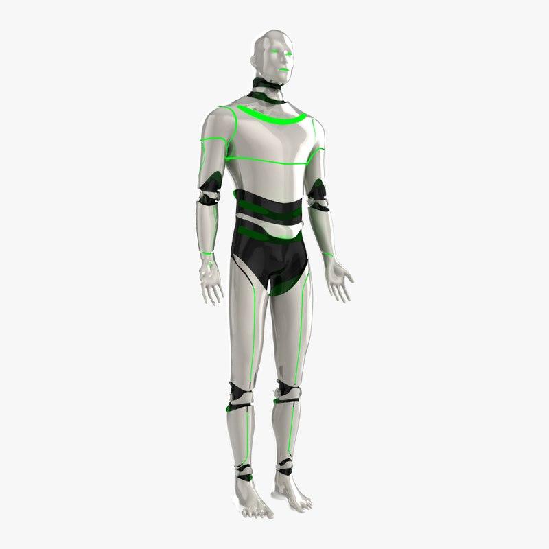 robot man bot