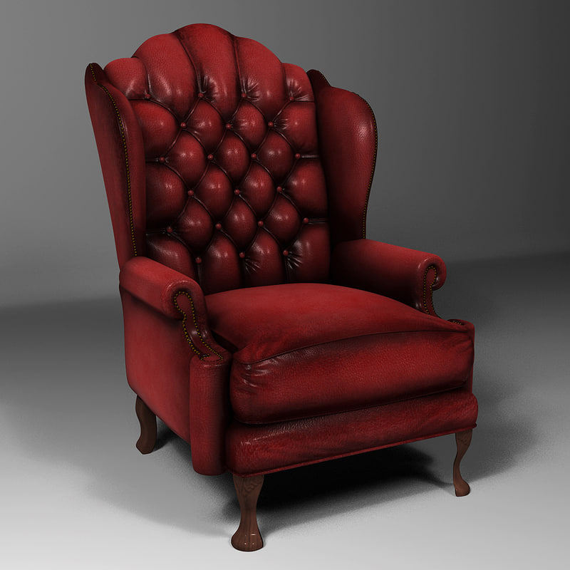 chesterfield chair leather max