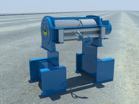 towing winch obj