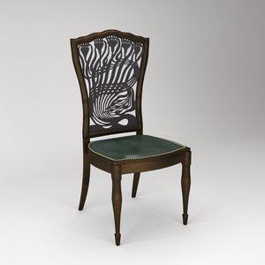 3d mackmurdo chair
