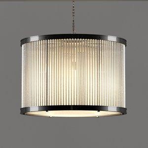 3d 1920s chandelier crystals