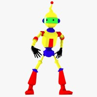 Rigged Robot Character