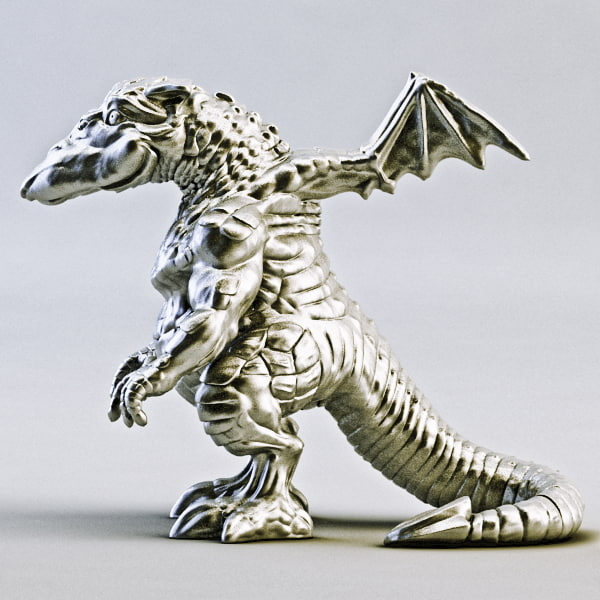 dragon printable 3d obj