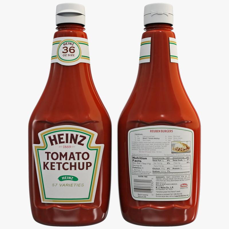 max ketchup bottle
