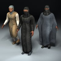 Arab Civilian Females