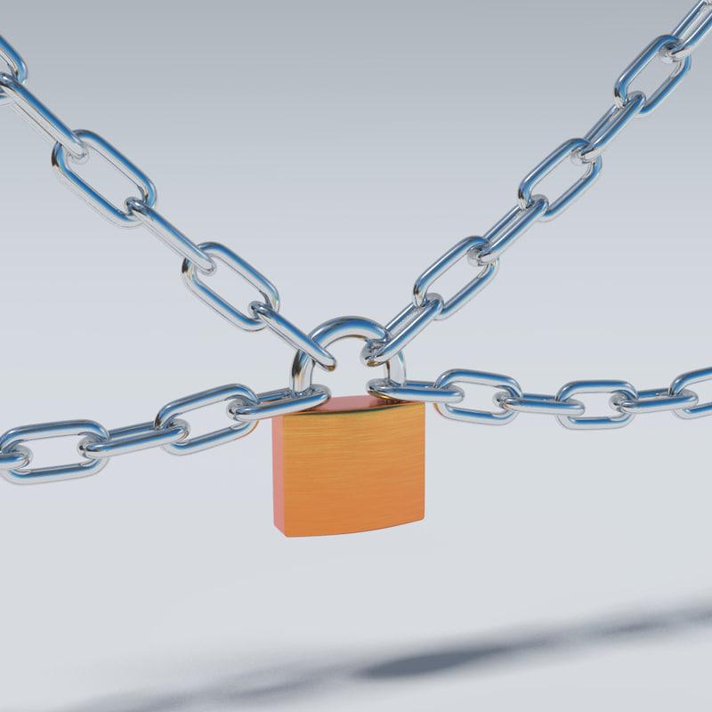 obj chain lock key