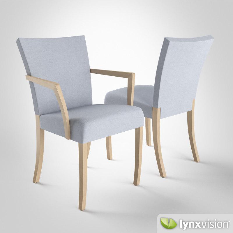 3d model dione chair montis