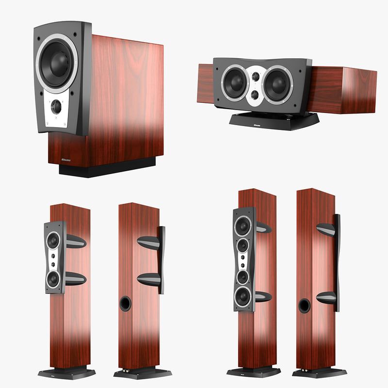 dynaudio confidence series 3d max