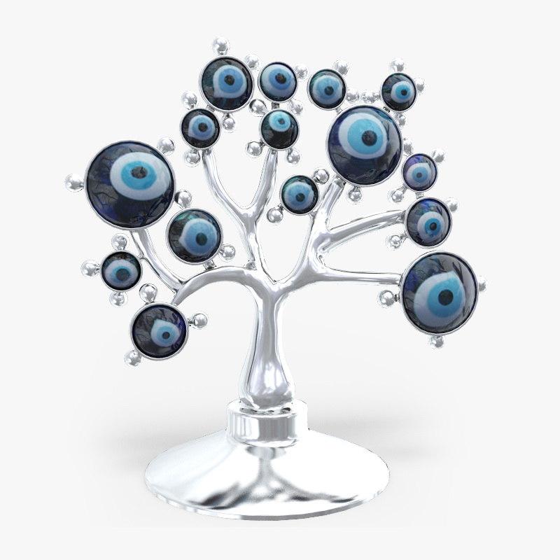 3d eye evil tree souvenir
