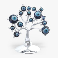 3d eye evil tree souvenir