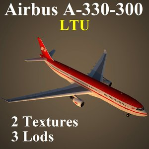 airbus ltu 3d model