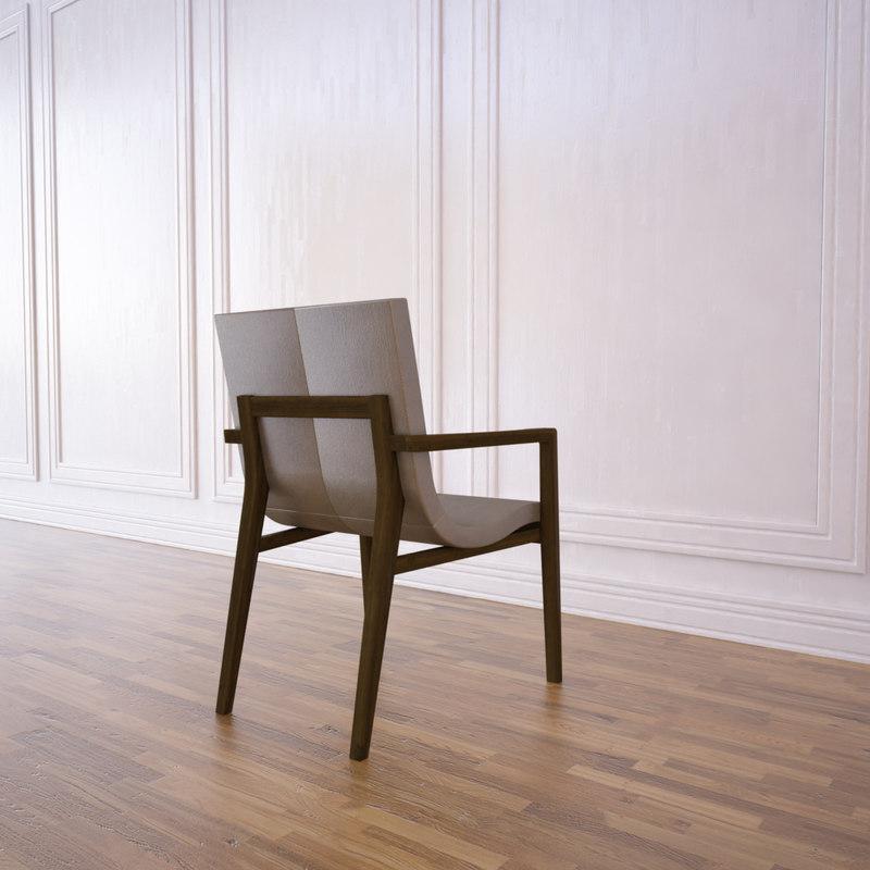 3d siren dining chair
