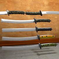 Sword Staff Military Saber