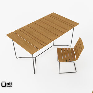 3ds outdoor dining set tables