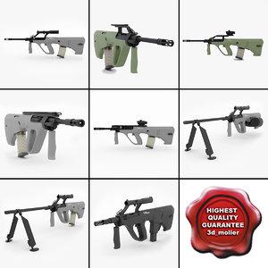 3ds max steyr guns